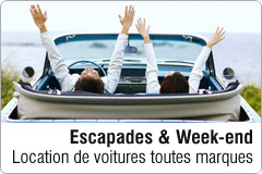 Location de voiture week-end