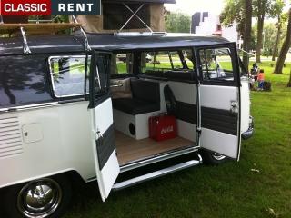location volkswagen combi blanc de 1965 louer volkswagen combi blanc de 1965. Black Bedroom Furniture Sets. Home Design Ideas
