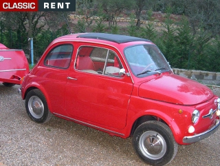 location fiat 500 rouge de 1970 louer fiat 500 rouge de 1970. Black Bedroom Furniture Sets. Home Design Ideas