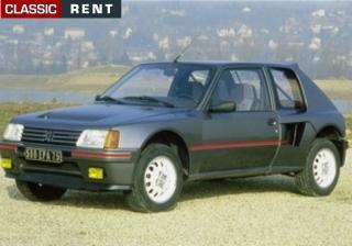 location peugeot 205 turbo 16 gris de 1984 louer peugeot 205 turbo 16 gris de 1984. Black Bedroom Furniture Sets. Home Design Ideas
