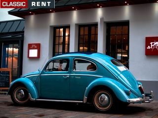 location volkswagen coccinelle bleu de 1957 louer volkswagen coccinelle bleu de 1957. Black Bedroom Furniture Sets. Home Design Ideas