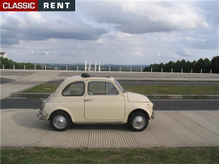 location fiat 500 beige de 1968 louer fiat 500 beige de 1968. Black Bedroom Furniture Sets. Home Design Ideas