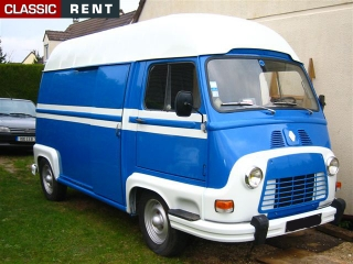 location renault estafette bleu de 1975 louer renault estafette bleu de 1975. Black Bedroom Furniture Sets. Home Design Ideas