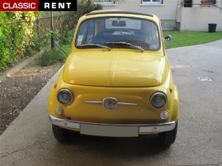 location fiat 500 jaune de 1967 louer fiat 500 jaune de 1967. Black Bedroom Furniture Sets. Home Design Ideas