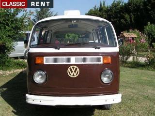 location volkswagen combi marron de 1973 louer volkswagen combi marron de 1973. Black Bedroom Furniture Sets. Home Design Ideas