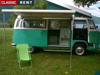location volkswagen combi vert de 1973 louer volkswagen combi vert de 1973. Black Bedroom Furniture Sets. Home Design Ideas