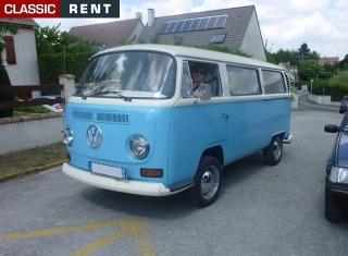 Location volkswagen combi bleu de 1970 louer volkswagen - Nouveau combi volkswagen prix ...