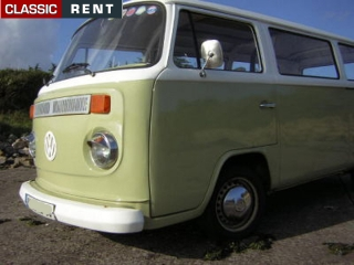 location volkswagen combi vert de 1975 louer volkswagen. Black Bedroom Furniture Sets. Home Design Ideas