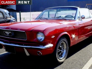 location ford mustang rouge de 1966 louer ford mustang rouge de 1966. Black Bedroom Furniture Sets. Home Design Ideas