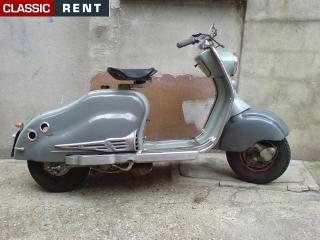 Ancien Scooter location scooter ancien - gris de 1954 - louer scooter ancien - gris