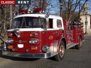 Location camion pompier