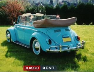 voiture coccinelle bleue