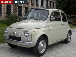 location fiat 500 beige de 1971 louer fiat 500 beige de 1971. Black Bedroom Furniture Sets. Home Design Ideas