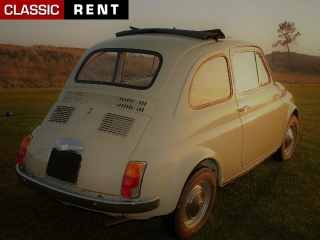 location fiat 500 beige de 1965 louer fiat 500 beige de 1965. Black Bedroom Furniture Sets. Home Design Ideas