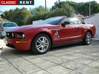 location ford mustang rouge de 2005 louer ford mustang rouge de 2005. Black Bedroom Furniture Sets. Home Design Ideas