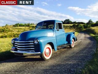 location chevrolet pickup bleu de 1952 louer chevrolet pickup bleu de 1952. Black Bedroom Furniture Sets. Home Design Ideas