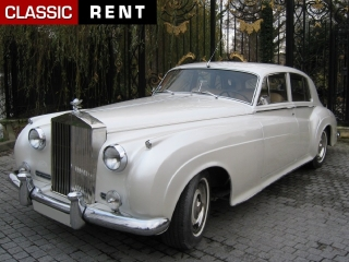 location rolls royce silver cloud blanc de 1960 - Location Rolls Royce Mariage
