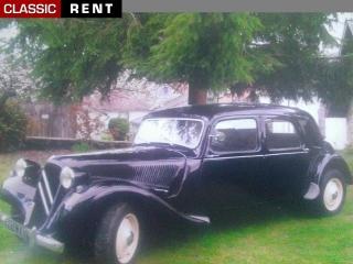 location citro n traction noir de 1953 louer citro n traction noir de 1953. Black Bedroom Furniture Sets. Home Design Ideas