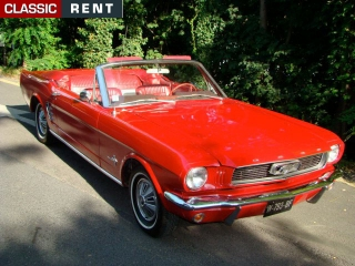 location ford mustang rouge de 1964 louer ford mustang rouge de 1964. Black Bedroom Furniture Sets. Home Design Ideas