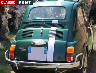 location fiat 500 vert de 1974 louer fiat 500 vert de 1974. Black Bedroom Furniture Sets. Home Design Ideas