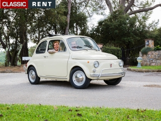 location fiat 500 beige de 1969 louer fiat 500 beige de 1969. Black Bedroom Furniture Sets. Home Design Ideas