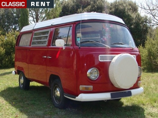 location volkswagen combi rouge de 1971 louer volkswagen combi rouge de 1971. Black Bedroom Furniture Sets. Home Design Ideas