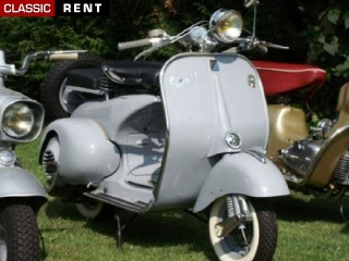 Ancien Scooter location scooter ancien vespa gris de 1960 - louer scooter ancien