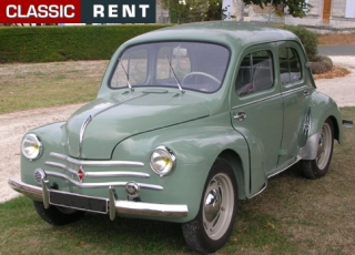 location renault 4 cv vert de 1955 louer renault 4 cv vert de 1955. Black Bedroom Furniture Sets. Home Design Ideas