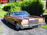 Louer une LINCOLN Continental Marron de 1975