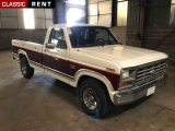 Louer une FORD Pick-up Blanc de 1985
