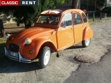 Citroën - 2 cv - 1981 - Orange