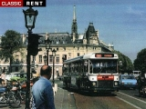BUS Parisien de transport Urbain - 1970 - Blanc