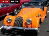 Louer une MORGAN 4/4 Orange de 1970