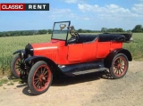 FORD - T - 1922 - Rouge