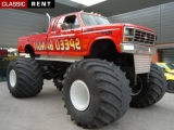 Louer une MONSTER TRUCK Bigfoot - Rouge de 2012
