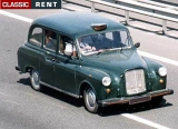 TAXI Anglais Londonien - Carbodies - 1969 - Vert